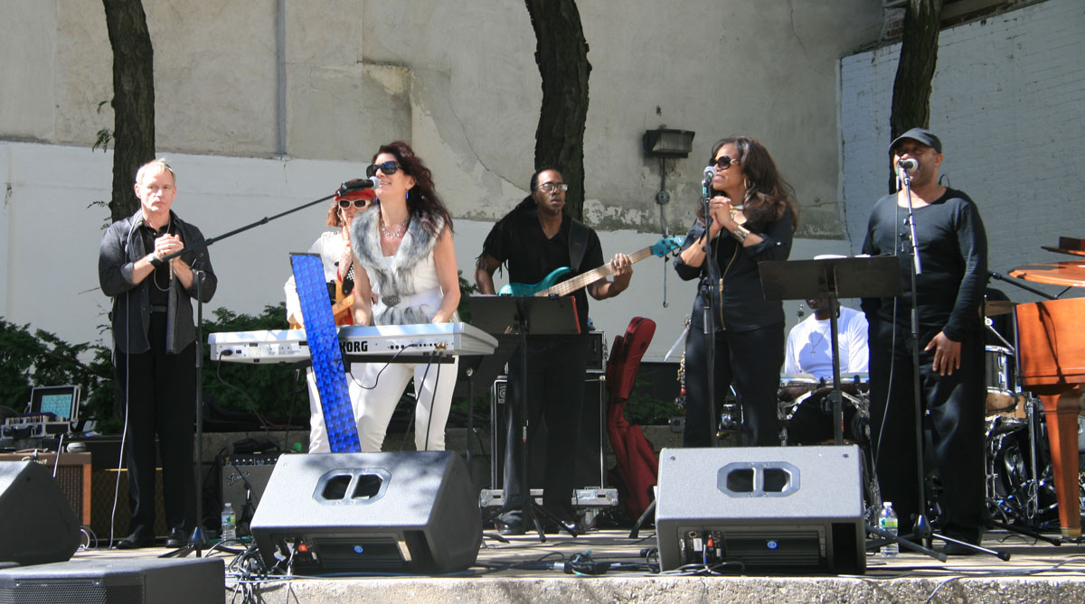 Valerie Ghent Band Westbeth Music Festival 2012