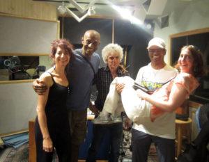 Valerie Ghent, Bernard Davis, Steve Addabbo, Tinker Barfield, Ann Klein, Recording Supernatural Thing