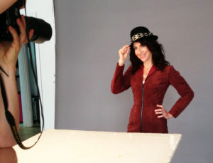 Valerie Ghent Photo Session for Supernatural Thing