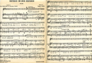 Refrain_de_mon_enfance_sheet_music