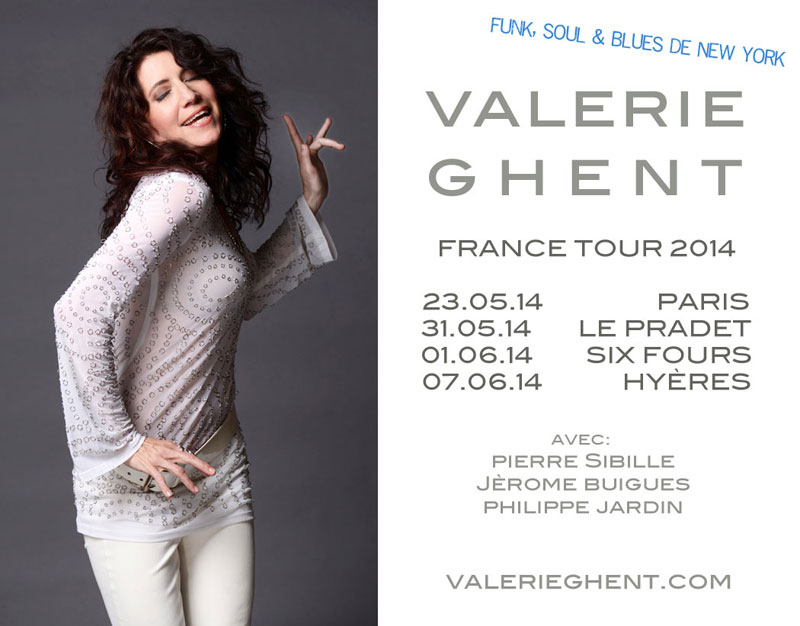 Valerie Ghent France Tour 2014
