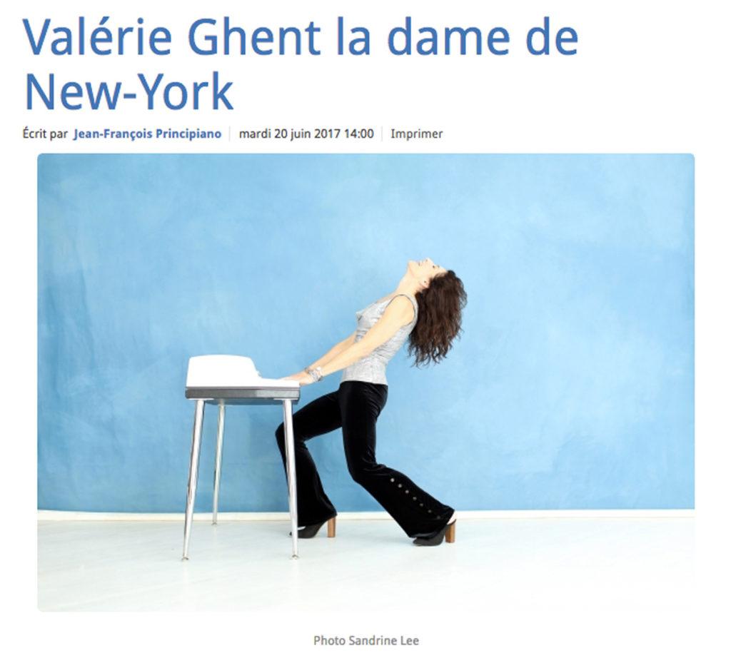 Valerie Ghent La Marseillaise
